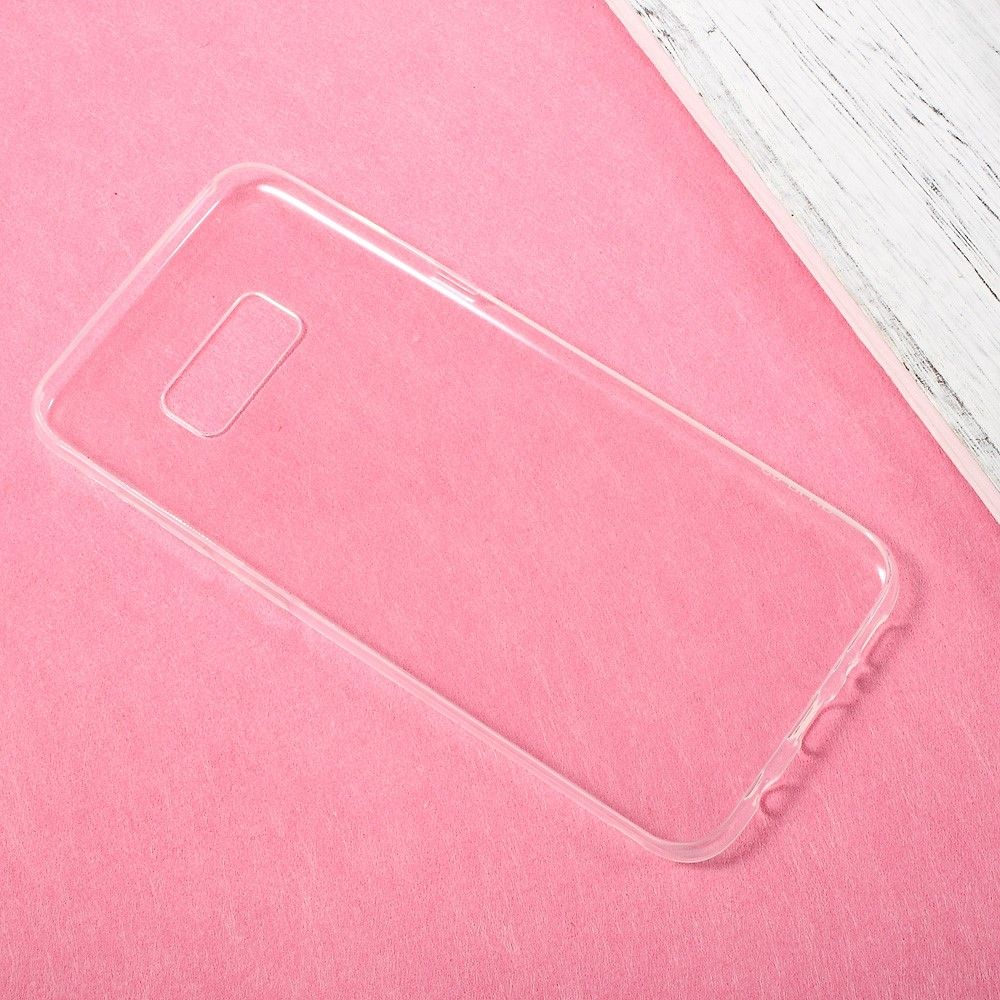 Image of   Galaxy S8 - TPU cover/etui ultratyndt - Transparent