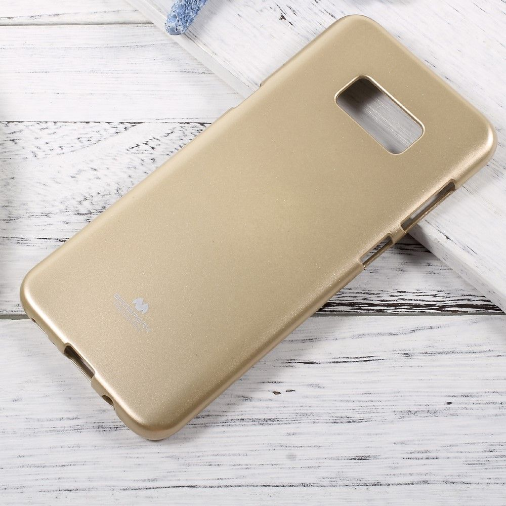Image of   Galaxy S8 Plus - TPU cover/etui Mercury Goospery Flash - Guld