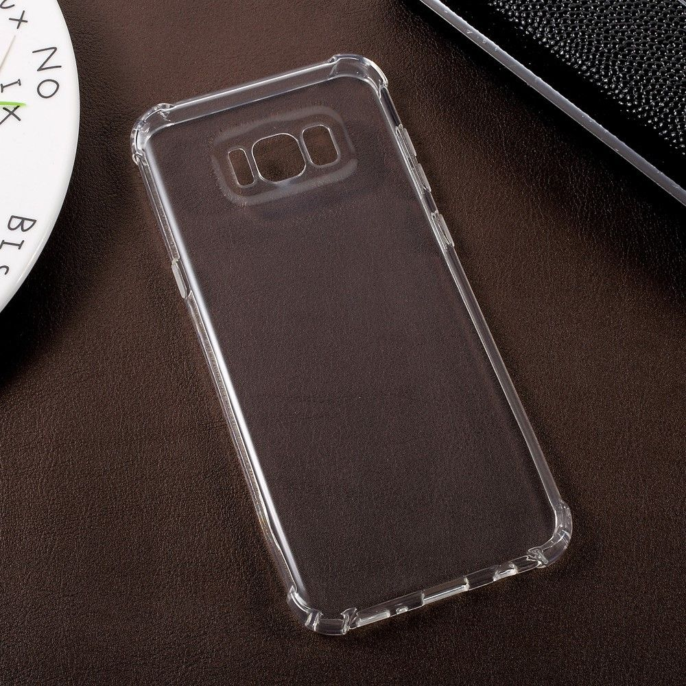 Image of   Galaxy S8 Plus - TPU ultratyndt gel Etui/cover - Transparent
