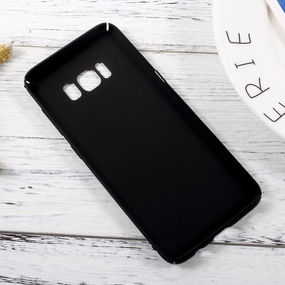 Image of   Galaxy S8 - Hardcover i mat finish - Sort