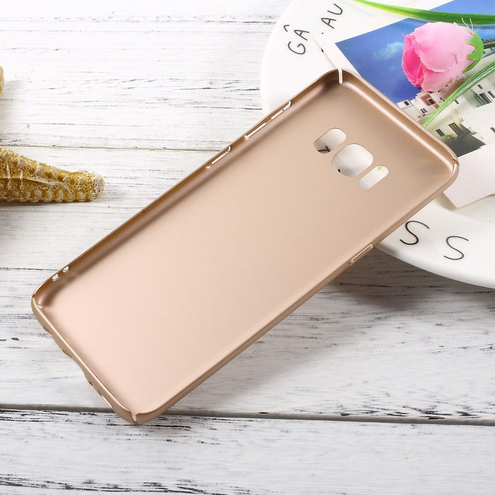 Image of   Galaxy S8 - Hardcover i mat finish - Guld