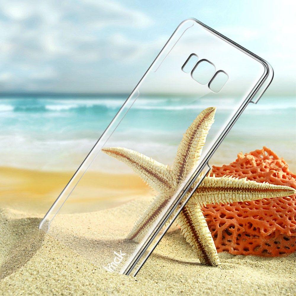 Image of   Galaxy S8 Plus - Hardcover IMAK Air Case krystalklart - Gennemsigtigt