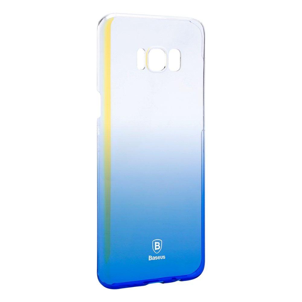 Image of   Galaxy S8 Plus - BASEUS Glaze Color pc cover - Blå