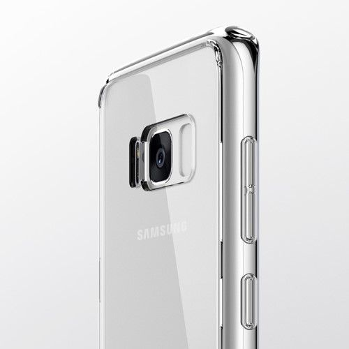 Image of   Galaxy S8 - Hybrid cover ROCK Series - Transparent