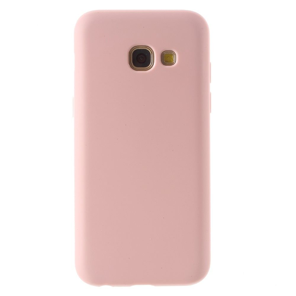 Galaxy A7 (2017) - TPU cover Fresh Design - Pink
