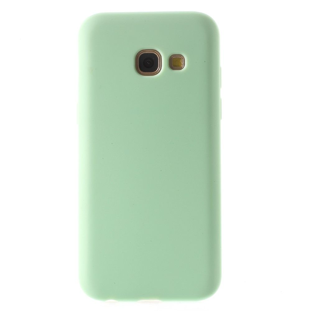 Galaxy A7 (2017) - TPU cover Fresh Design - Grøn