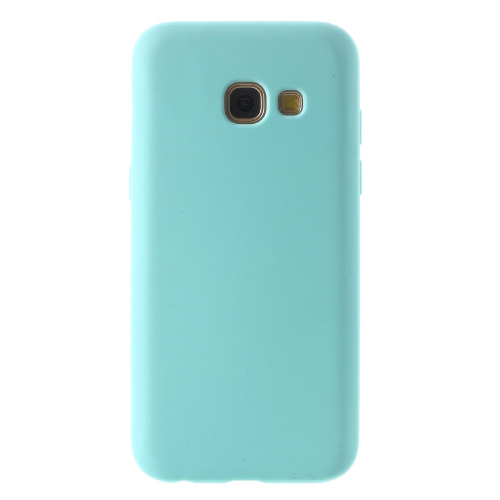 Galaxy A7 (2017) - TPU cover Fresh Design - Lyseblå
