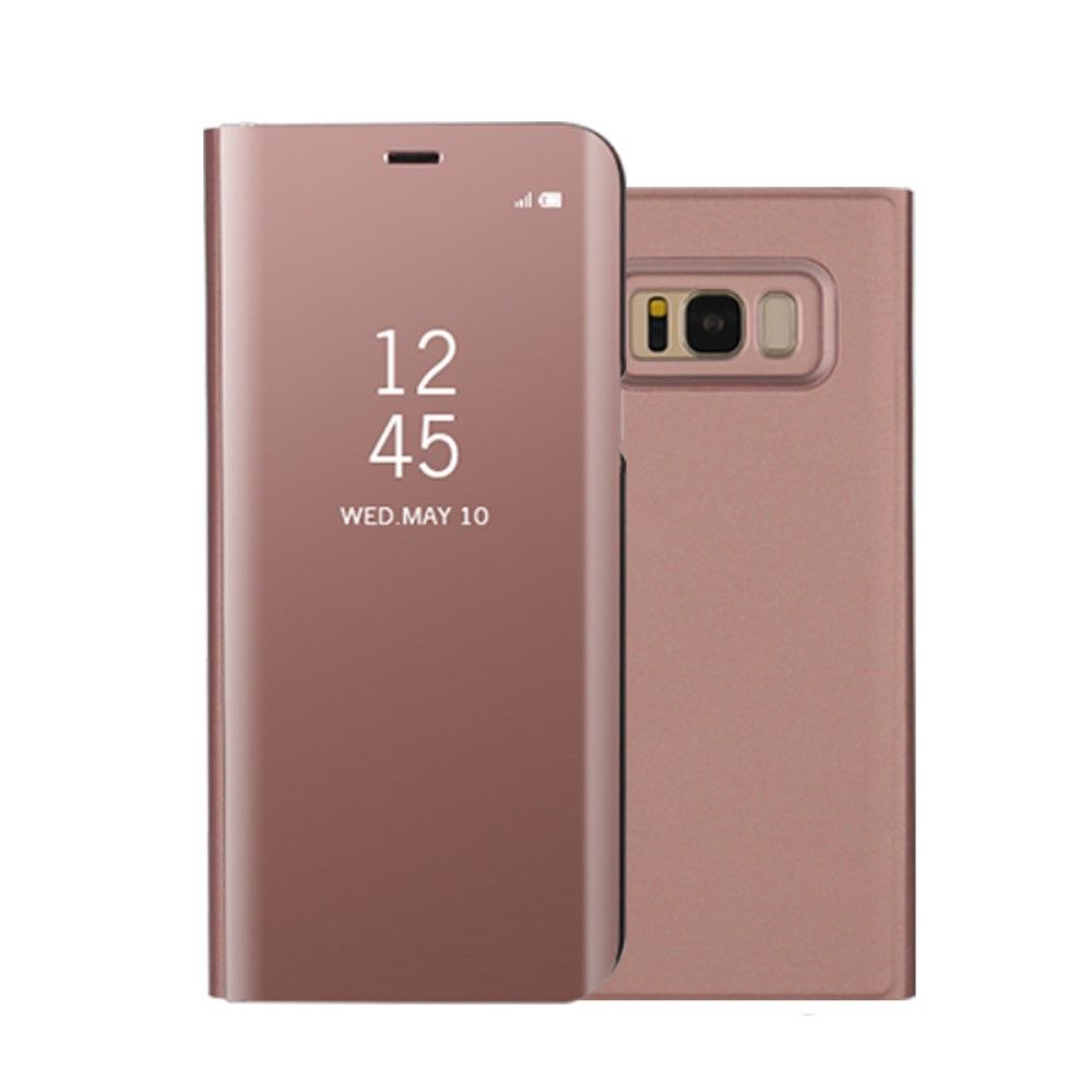 Image of   Galaxy S8 - Smart View Mirror cover - Rosa guld