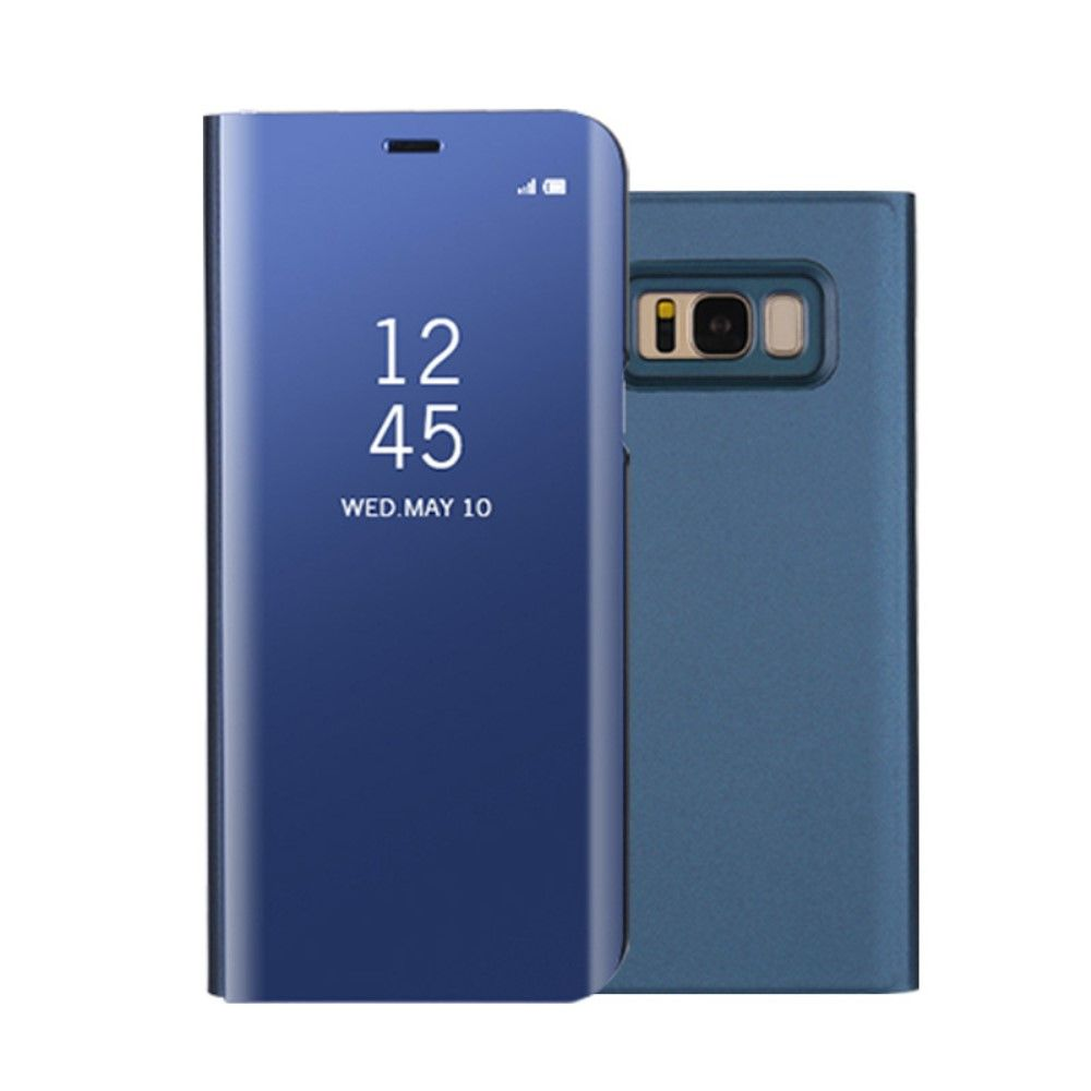 Image of   Galaxy S8 - Smart View Mirror cover - Blå
