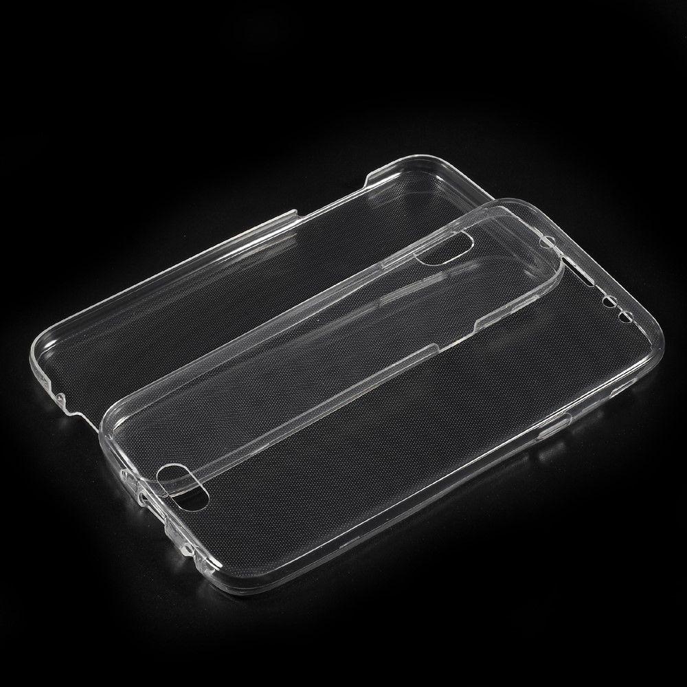 Image of   Galaxy J5 (2017) - TPU front+bag cover antislip - Transparent
