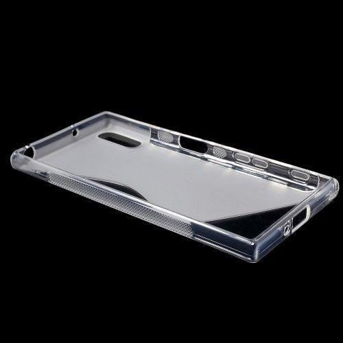 Sony Xperia XZs/XZ - S-line TPU Cover - Transparent