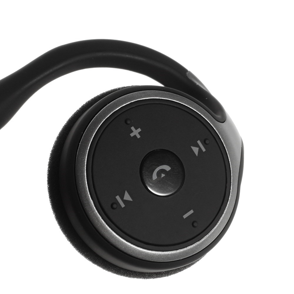 Image of   A6 Sports Trådløst Bluetooth 4.0 Stereo Høretelefon - Sort
