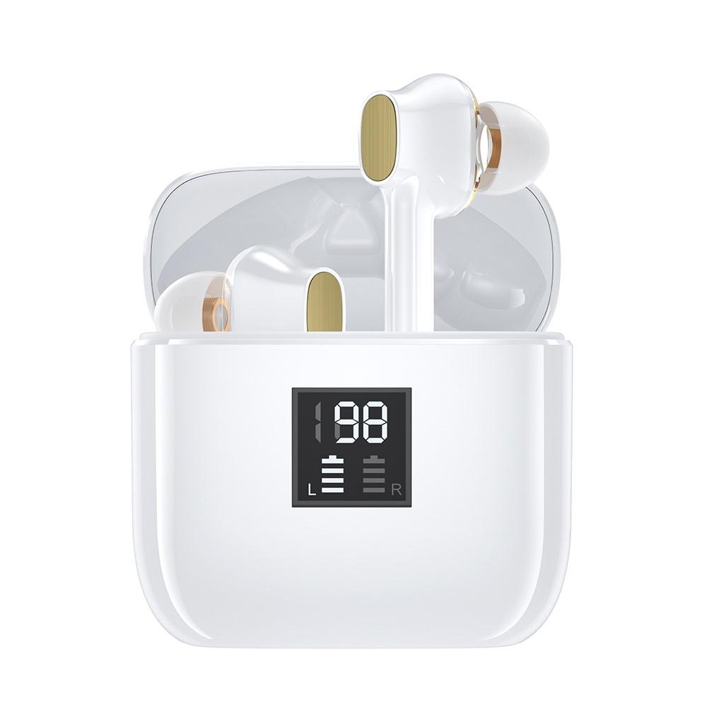 Billede af ESSAGER - Trådløse Bluetooth Høretelefoner med opladerbox - Vandtæt & svedsikre - Hvid