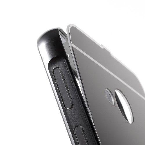 Image of   HTC U Play - Bumper slide on metal - Sort