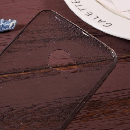 Image of   HTC U Play - TPU ultratyndt klart cover - Grå