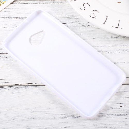Image of   HTC U Play - TPU blødt cover med S-line design - Hvid