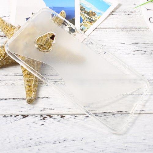 Image of   HTC U Play - TPU blødt cover med S-line design - Transparent