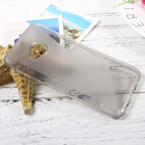 Image of   HTC U Play - TPU blødt cover med S-line design - Grå