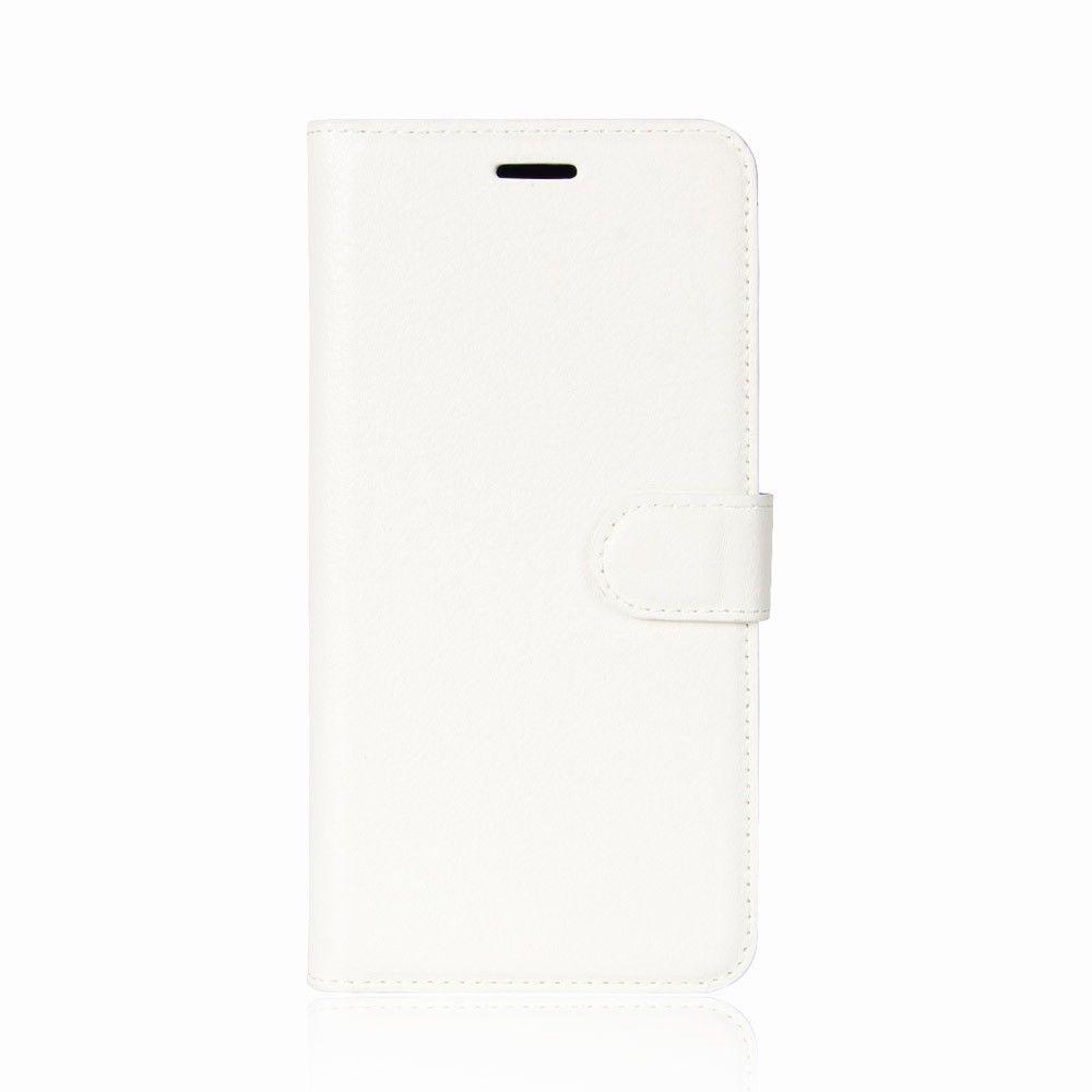 Image of   HTC U11 - læder cover / pung - Hvid