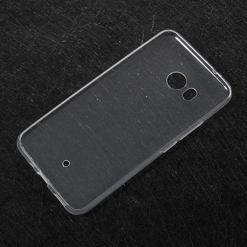 Image of   HTC U11 - TPU blødt cover ultratyndt - Transparent