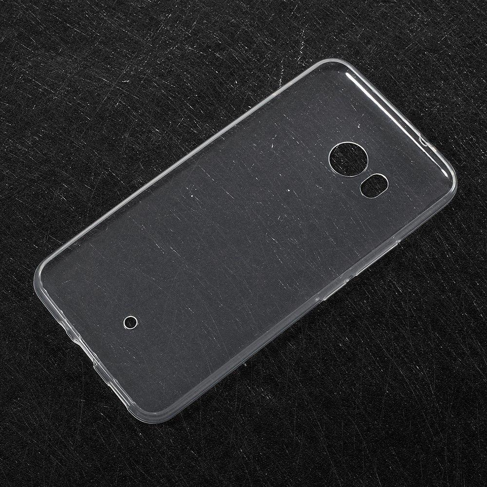 Image of   HTC U11 - TPU blødt cover ultratyndt - Transparent