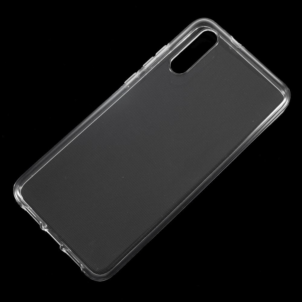Image of   Huawei P20 - Klar Gummi cover / etui - Transparent