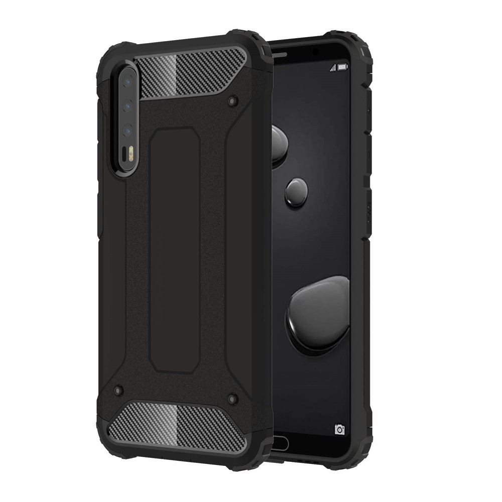 Image of   Huawei P20 Pro - Armor Guard Hybrid Cover - Sort