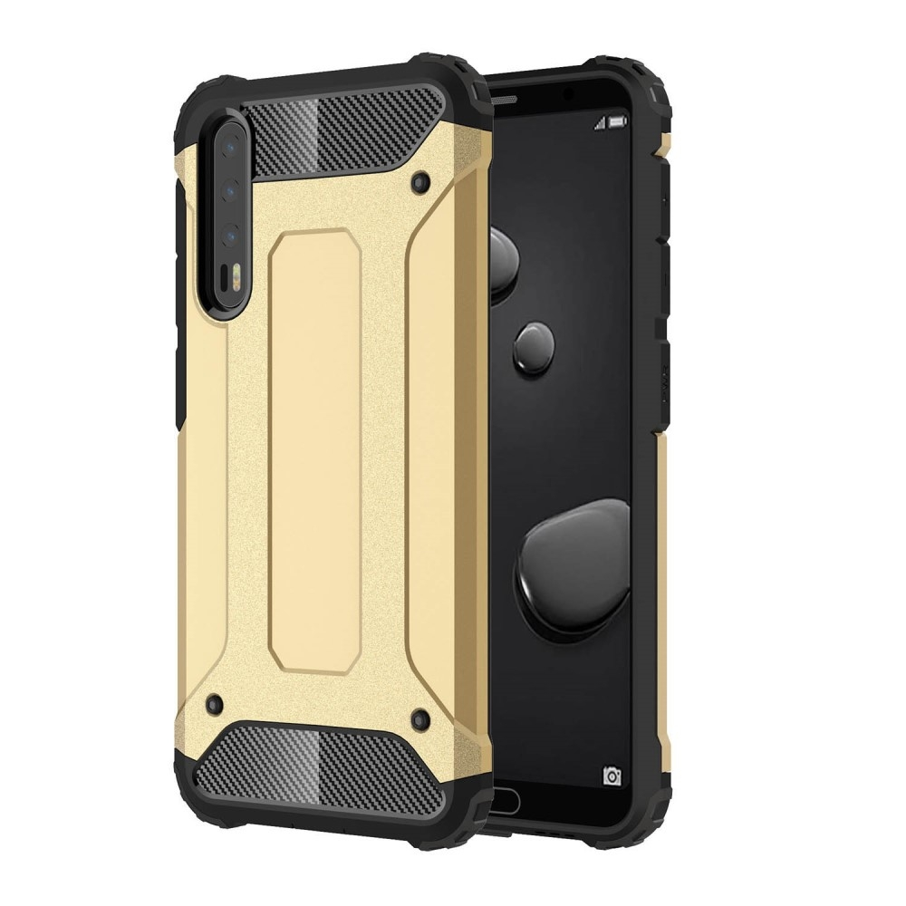 Image of   Huawei P20 Pro - Armor Guard Hybrid Cover - Guld