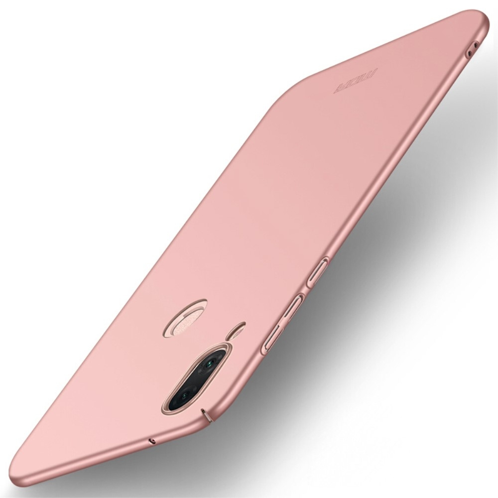 Image of   Huawei P20 Lite - MOFI Shield Frosted Hard cover - Rosa guld