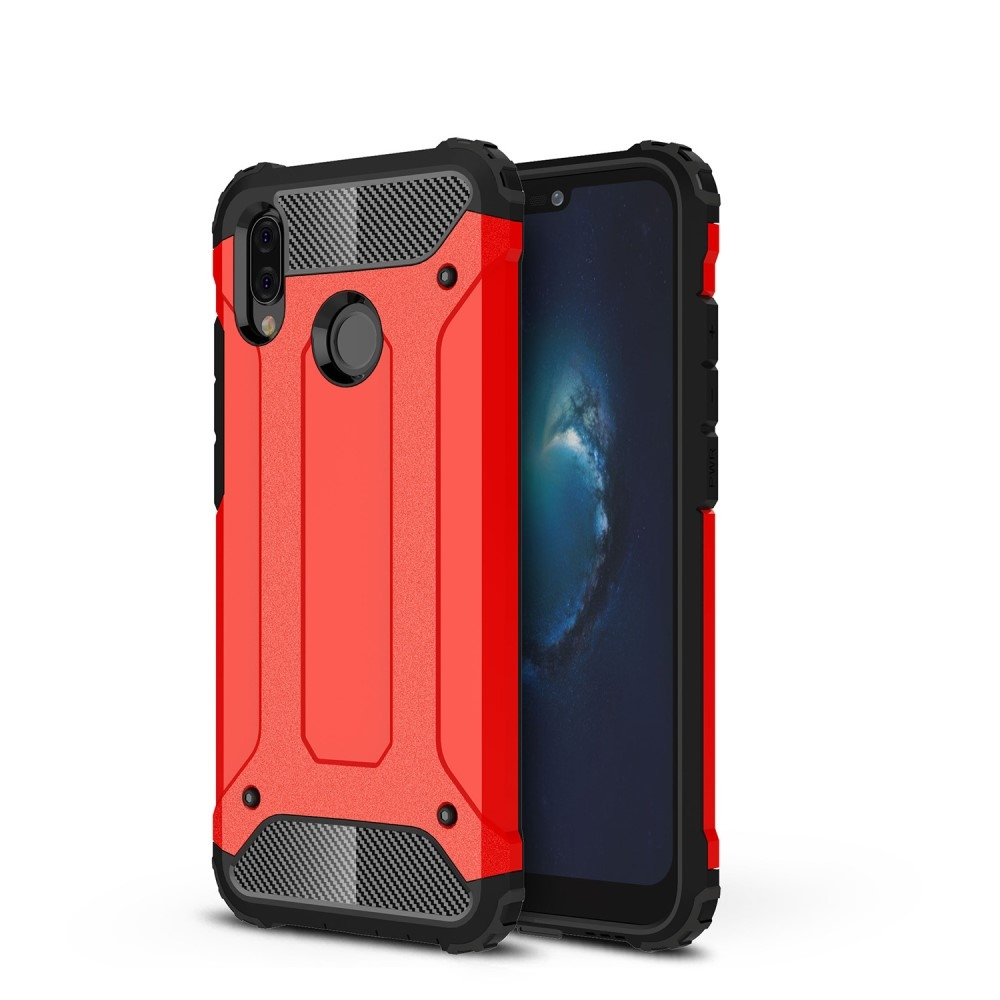 Image of   Huawei P20 Lite - Armor Guard Hybrid cover - Rød