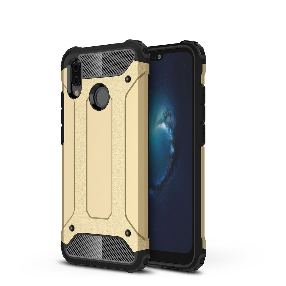 Image of   Huawei P20 Lite - Armor Guard Hybrid cover - Guld