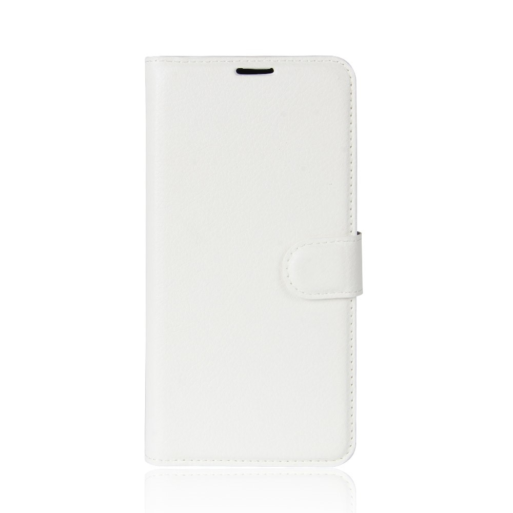 Huawei P20 Pro - Læder cover / pung - Hvid