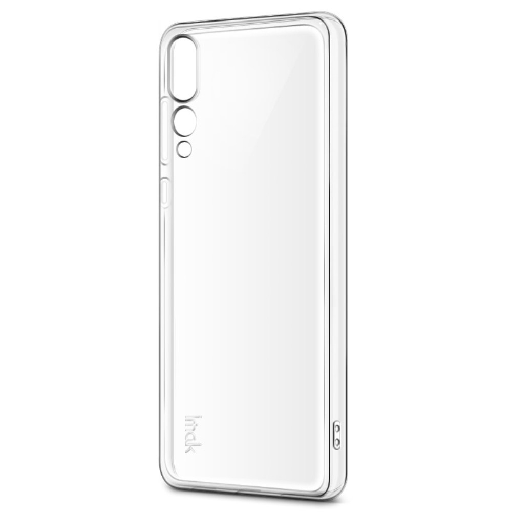 Image of   Huawei P20 Pro - IMAK Stealth Clear gummi cover m/skærmbeskytter