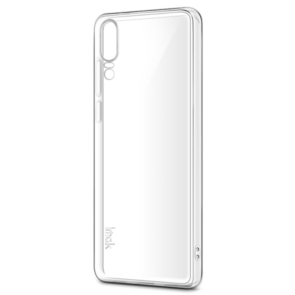 Image of   Huawei P20 - IMAK Stealth Clear gummi cover m/skærmbeskytter