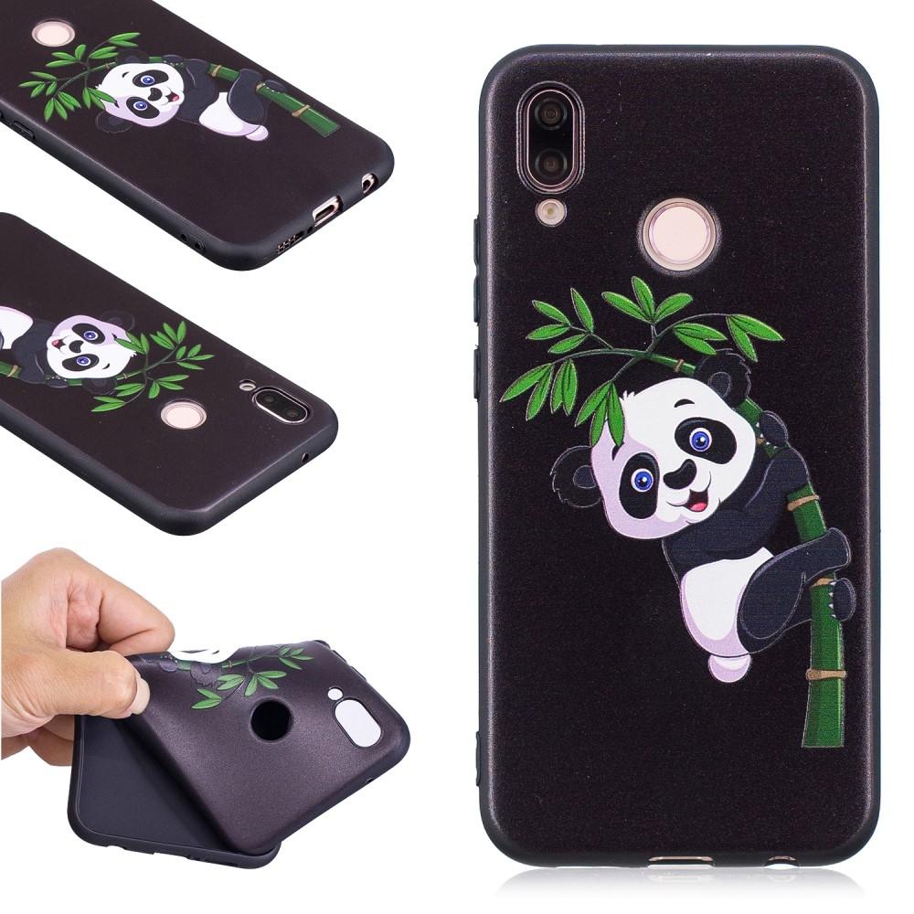 Image of   Huawei P20 Lite - Blød design gummi cover - Panda