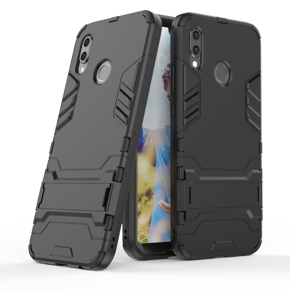 Image of   Huawei P20 Lite - Cool Guard Hybrid cover - Sort