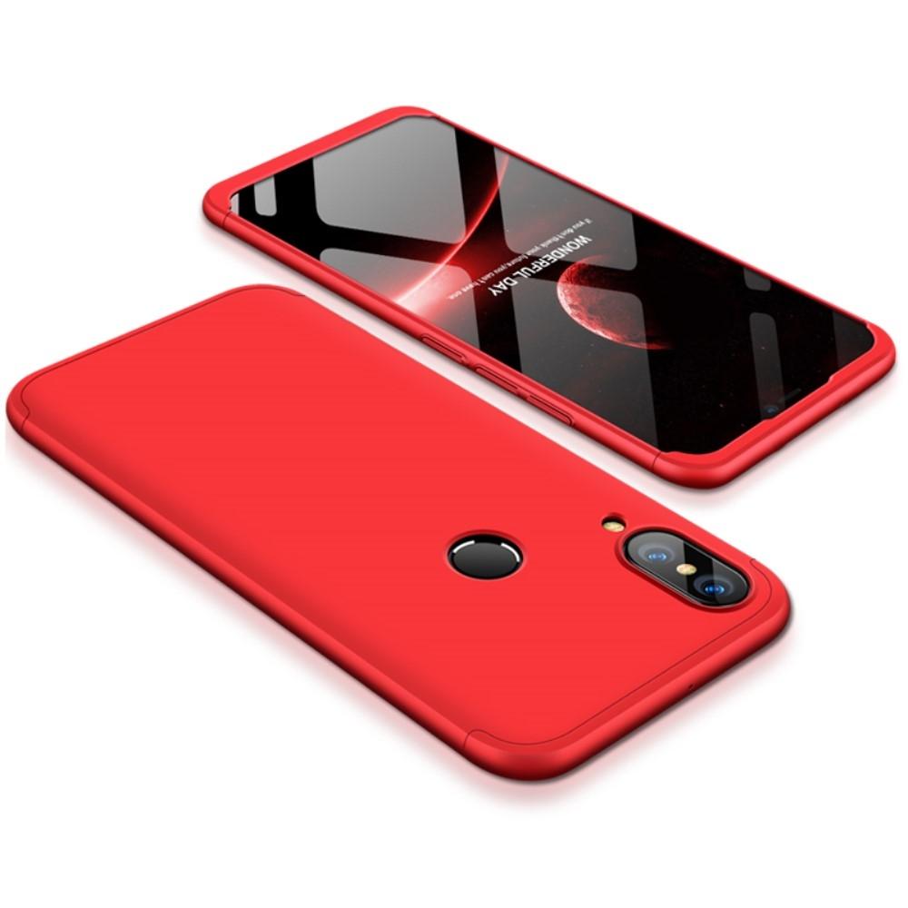 Image of   Huawei P20 Lite - GKK Hardcover m/aftagelig design - Rød