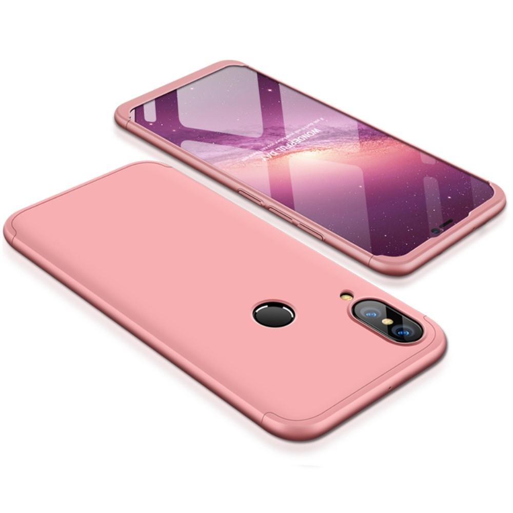 Image of   Huawei P20 Lite - GKK Hardcover m/aftagelig design - Rosa guld