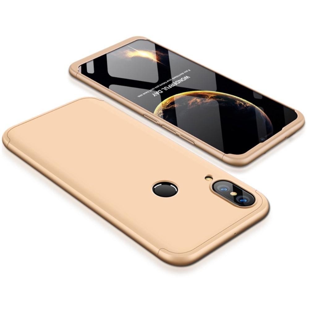 Image of   Huawei P20 Lite - GKK Hardcover m/aftagelig design - Guld