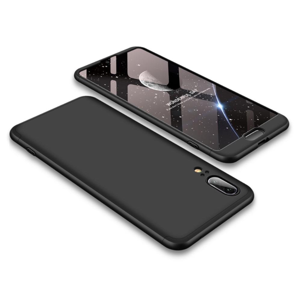 Image of   Huawei P20 - GKK Hardcover m/aftagelig design - Sort
