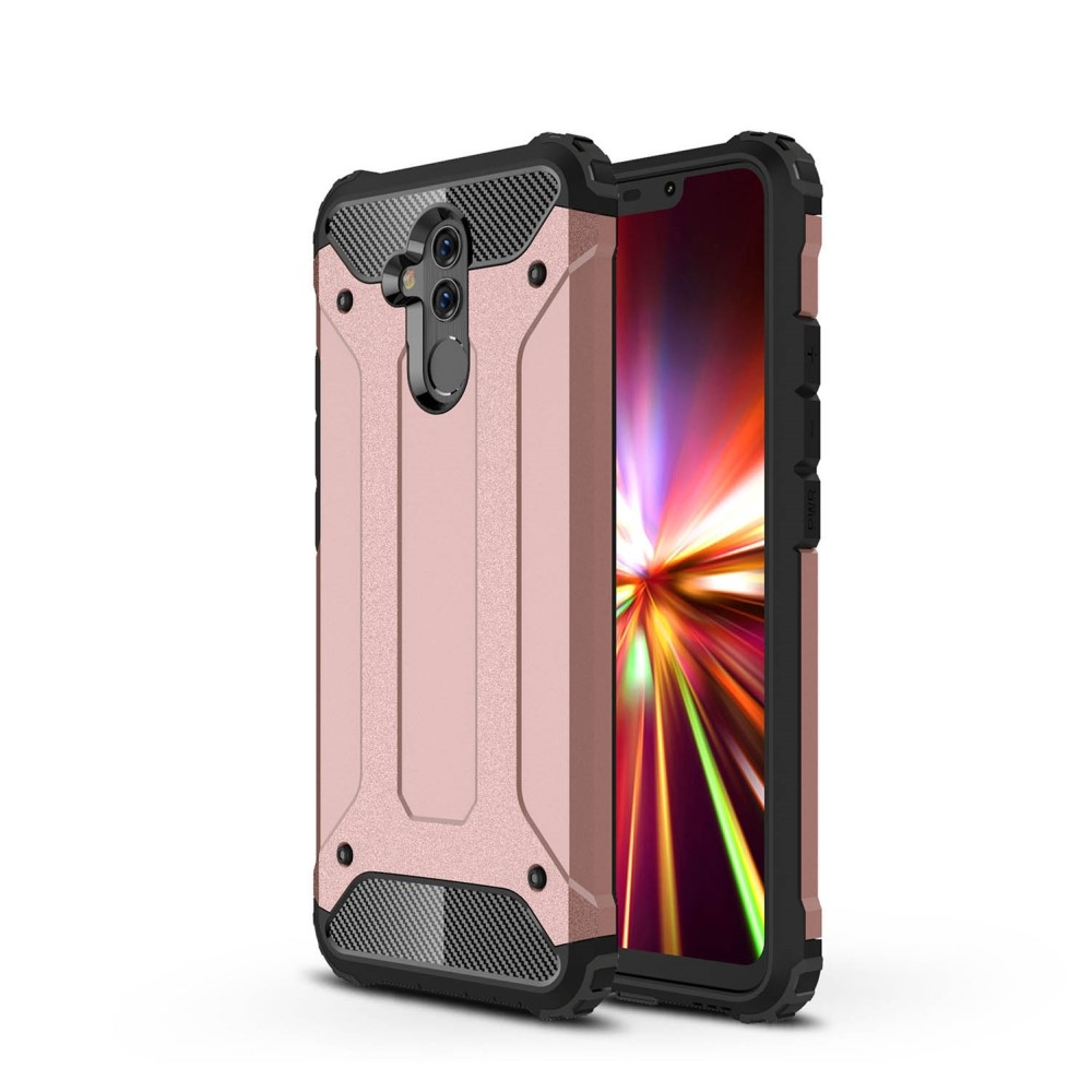 Image of   Huawei Mate 20 Lite - Armor Guard Hybryd cover/etui - Rosa guld