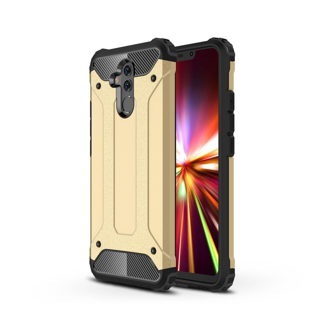 Image of   Huawei Mate 20 Lite - Armor Guard Hybryd cover/etui - Guld
