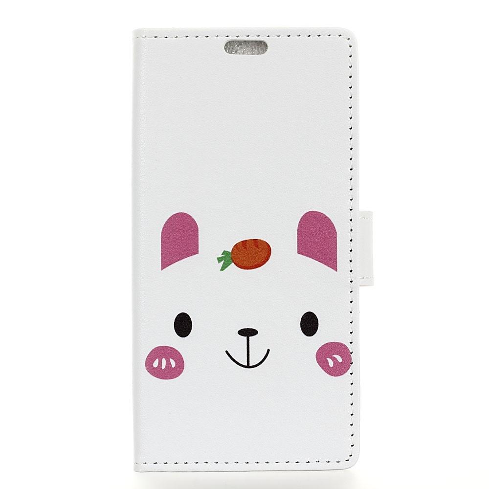Image of   Huawei Mate 20 - Mønstret cover / pung - Sød bjørn