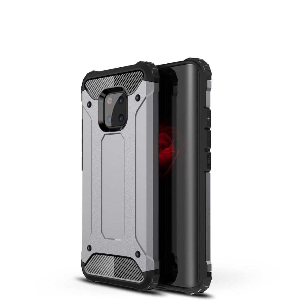 Image of   Huawei Mate 20 Pro - Armor Guard Hybrid cover - Grå