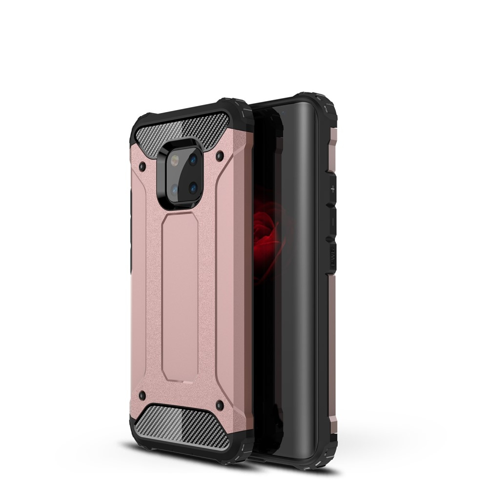 Image of   Huawei Mate 20 Pro - Armor Guard Hybrid cover - Rosa guld