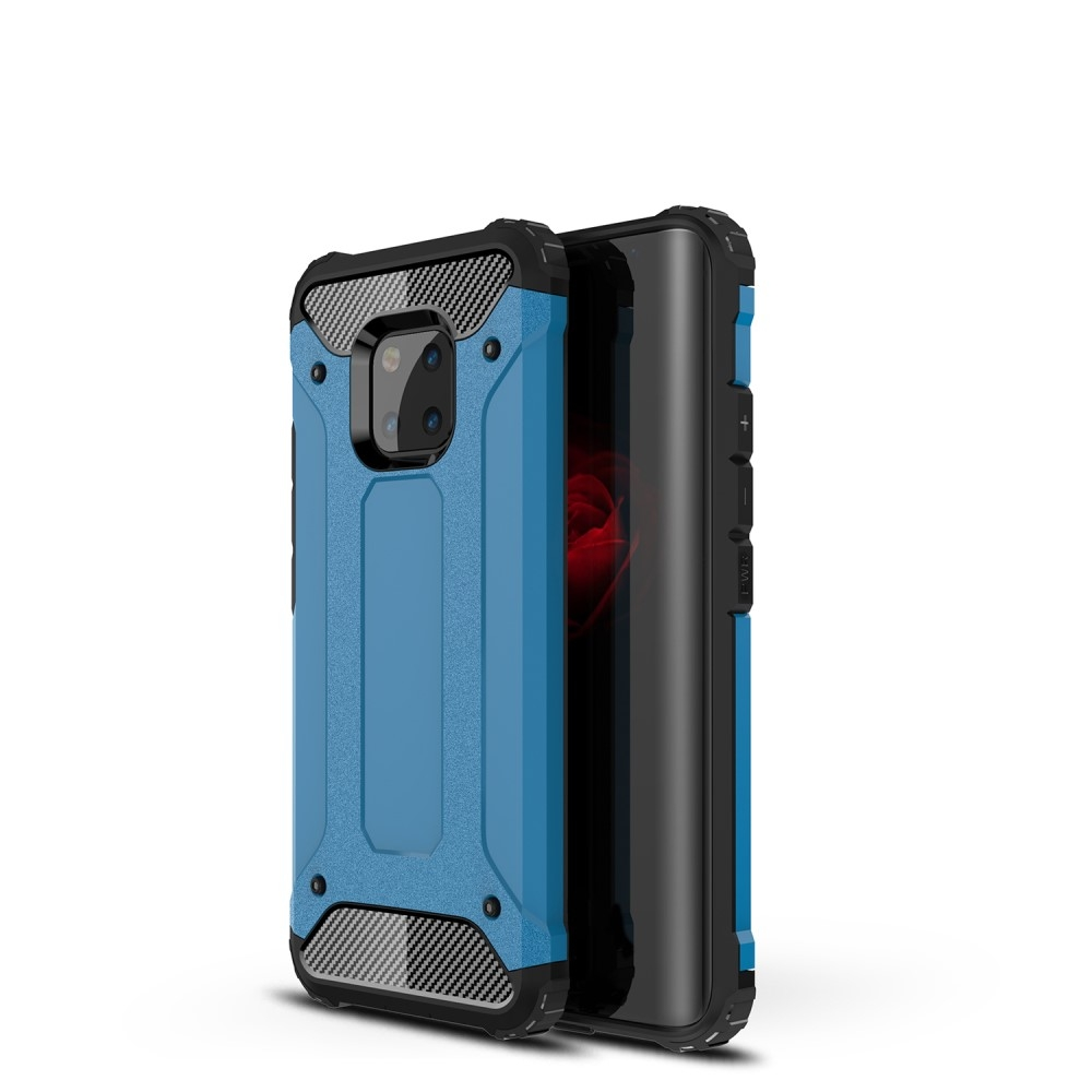 Image of   Huawei Mate 20 Pro - Armor Guard Hybrid cover - Lyseblå