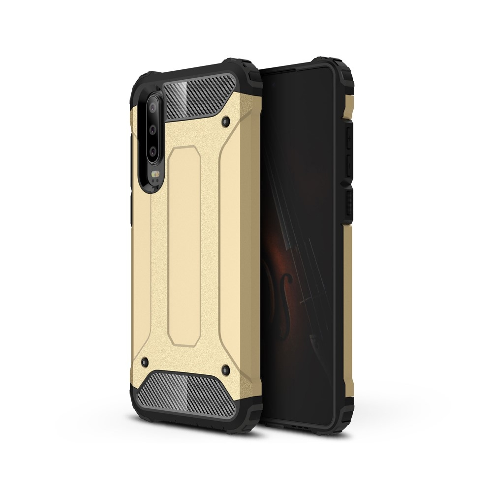 Image of   Huawei P30 - Armor Guard Hybrid cover - Guld