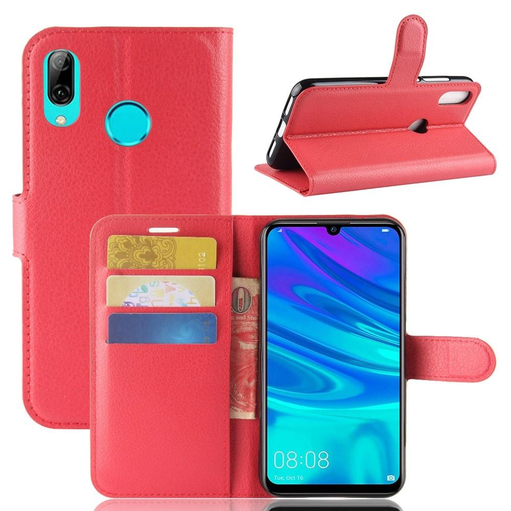 Billede af Huawei P30 Lite - Læder cover / pung - Rød