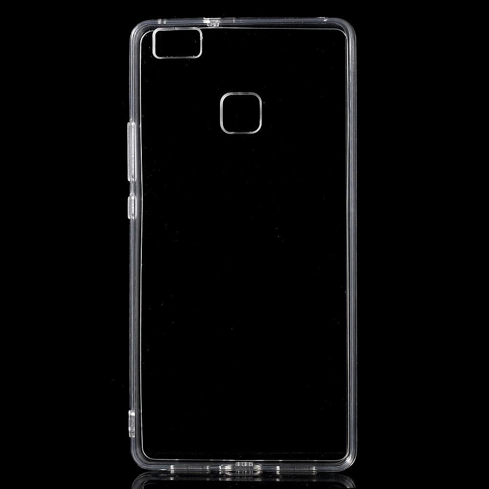 Image of   Huawei P9 Lite - Dobbeltsidet Mat TPU Cover - Transparent