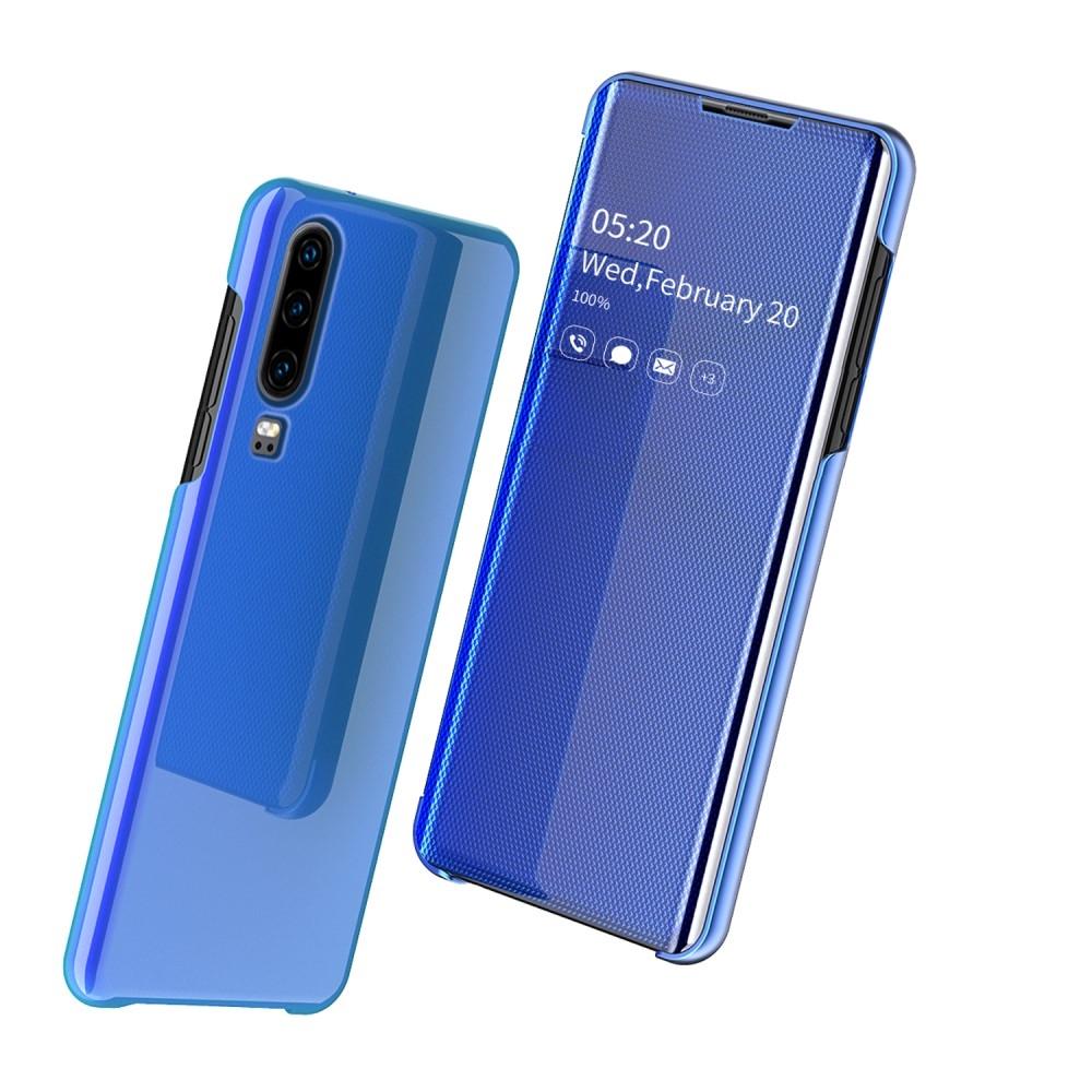 Billede af Huawei P30 - Mirror View Window cover - Blå